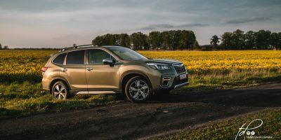 Subaru Forester e-Boxer test w Polsce