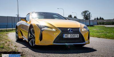 Lexus LC 500h w Polsce – test ekonomiki i dynamiki